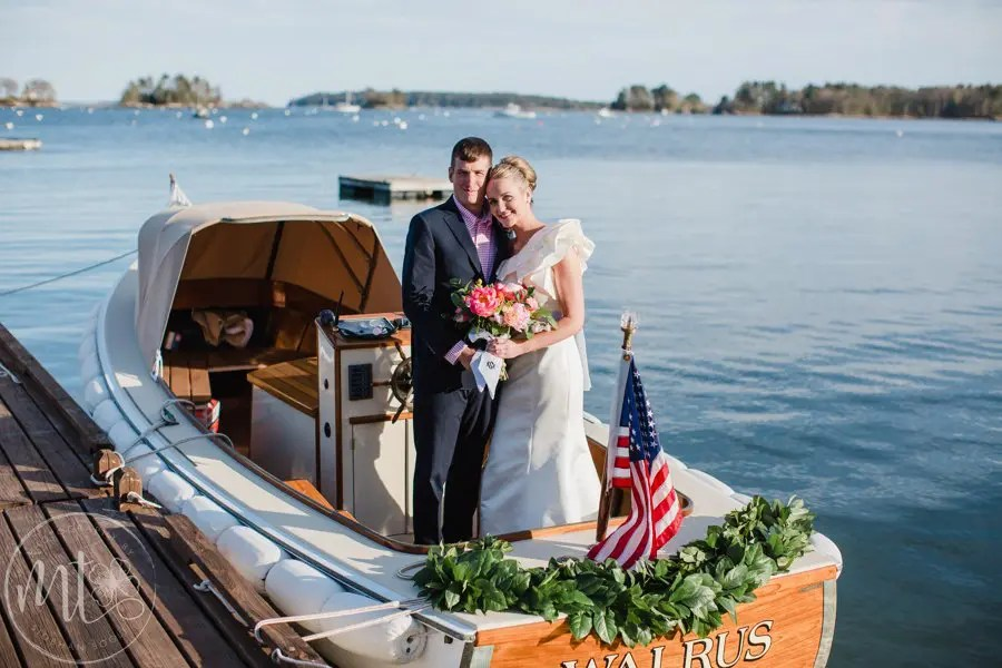 Maine Ocean Wedding