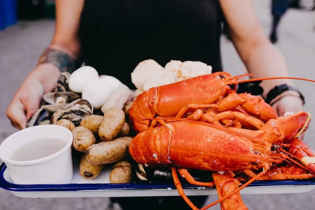 Lobster Dinner Big Tree Hospitality