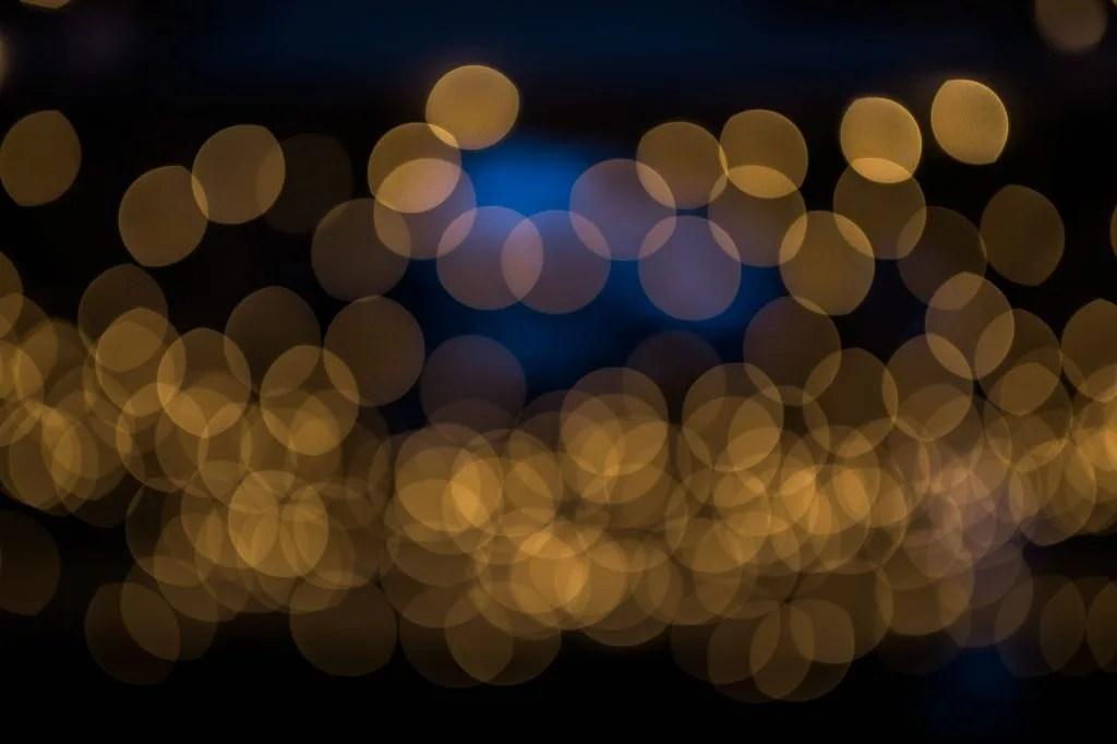 Dancing lights at Hardy Farm
