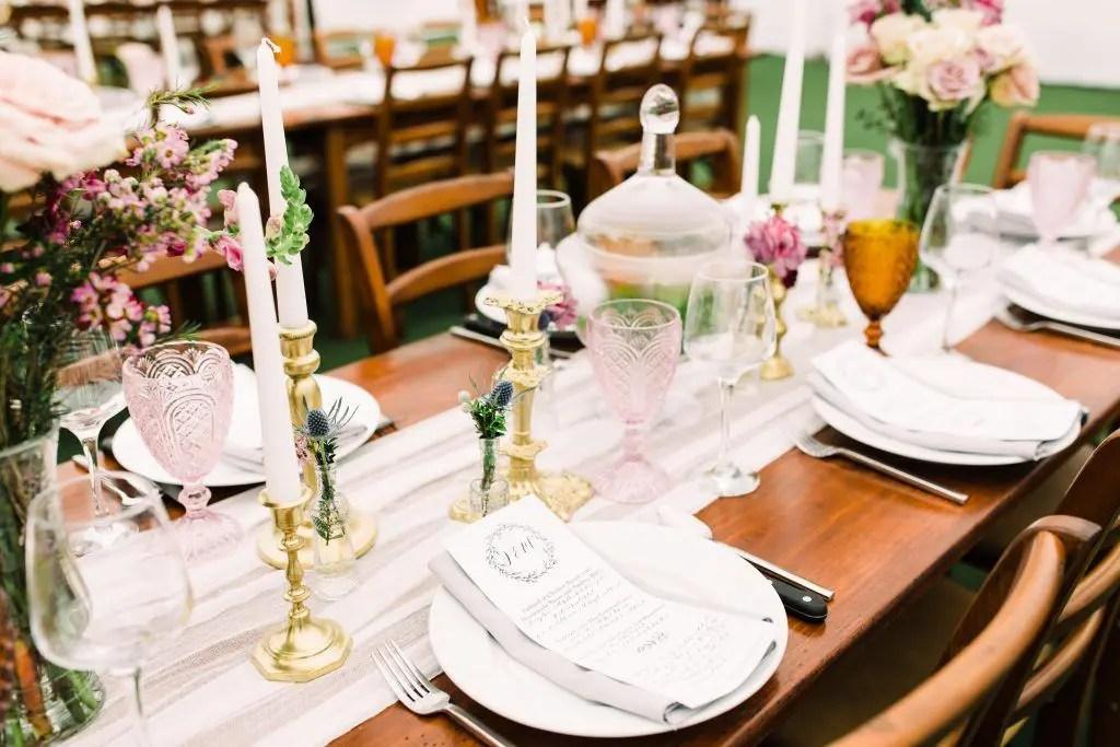 Spring pastel wedding colors