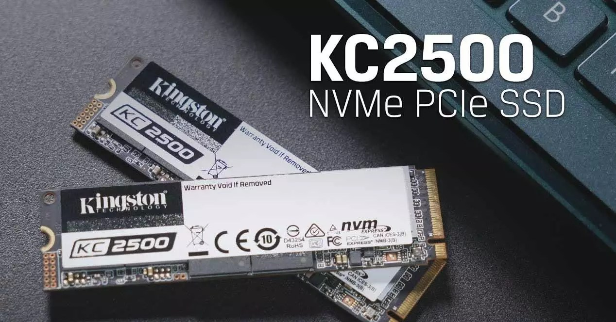 Kingston KC2500, NVMe SSD efficiency up to 2TB