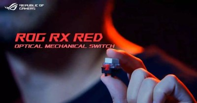 ASUS ROG RX Network, optical-mechanical switch for keyboard