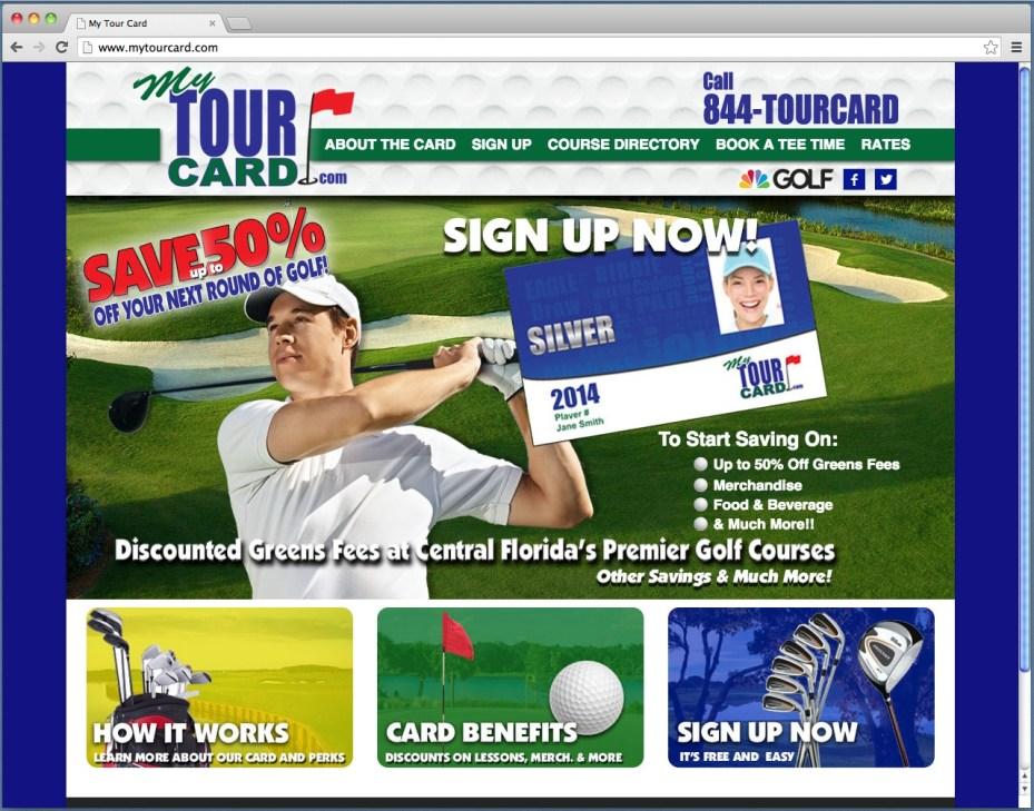 My Tour Card
