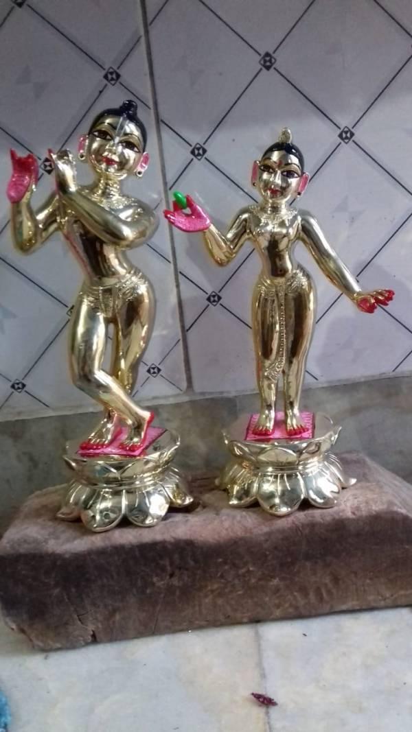 Radha Krishna 10 inches 6.5 kgs