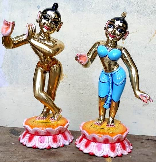 Radha Krishna 12 inches 12 kgs