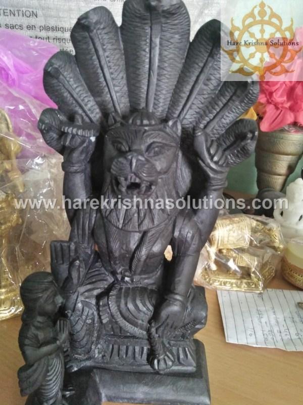 Narasimha Dev Marble Black