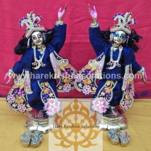 Gaura Nitai 10 inches Dark Blue (1)