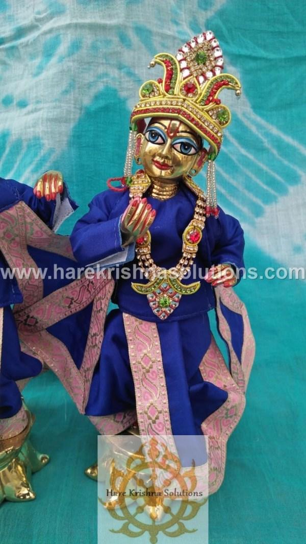 Krishna Balaram 10 inches Blue Dress (1)