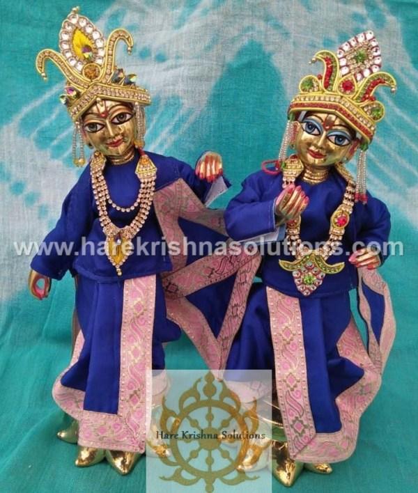 Krishna Balaram 10 inches Blue Dress (2)
