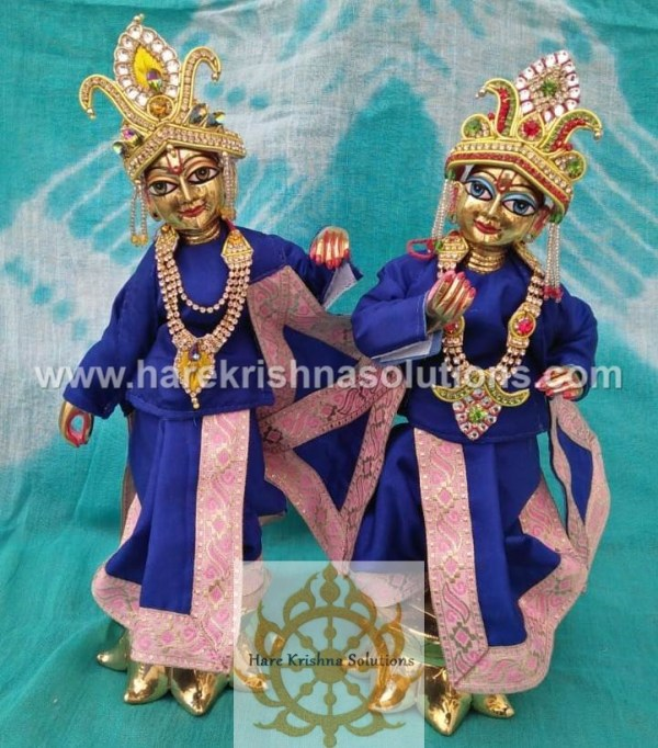 Krishna Balaram 10 inches Blue Dress (4)