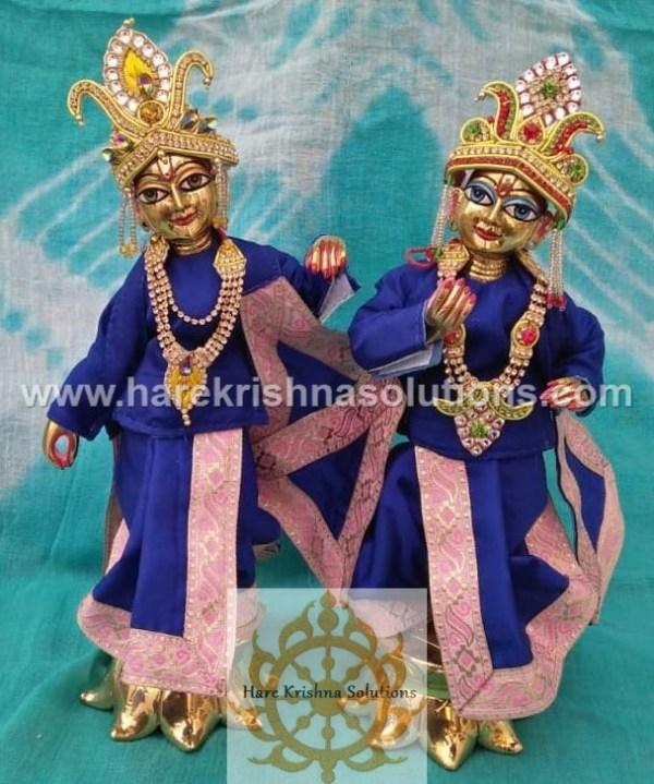 Krishna Balaram 10 inches Blue Dress (5)