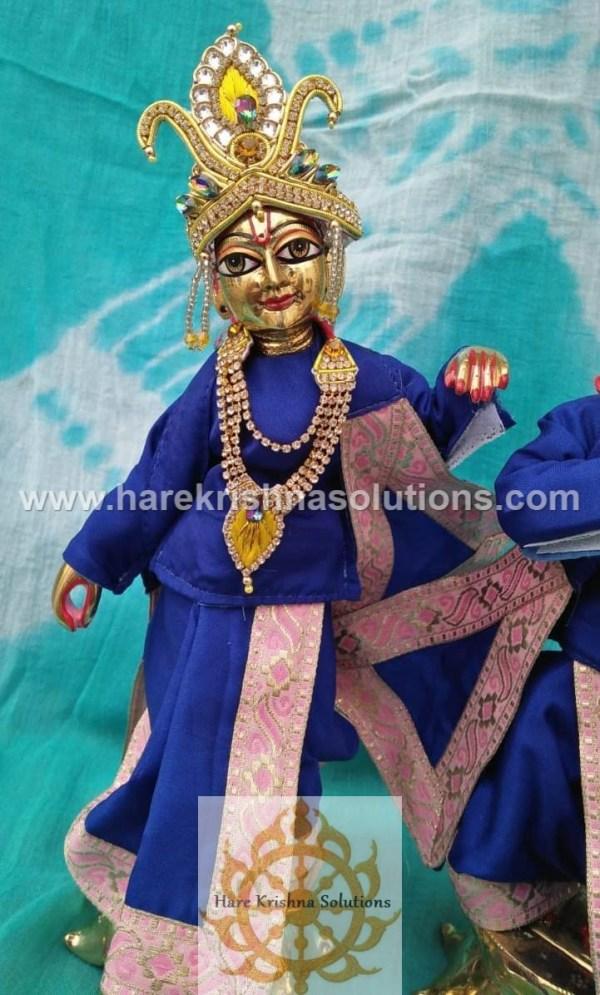 Krishna Balaram 10 inches Blue Dress (6)