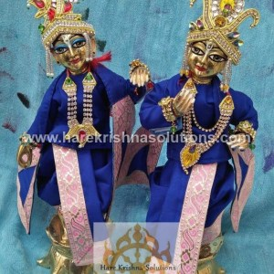 Krishna Balaram 10 inches PlainBlue (1)