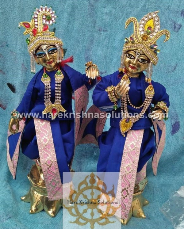 Krishna Balaram 10 inches PlainBlue (2)