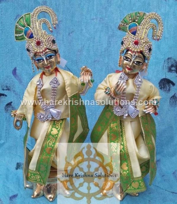 Krishna Balaram 10 inches PlainLightYellow (4)