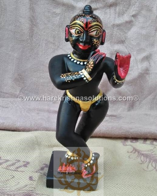 Black Krishna Sidelong Glancing (8)