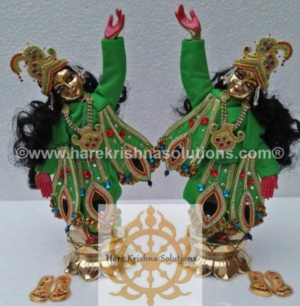 Gaura Nitai 12 inches Green (4)