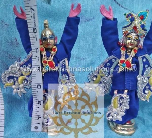 Gaura Nitai 6 inches-Blue (1)