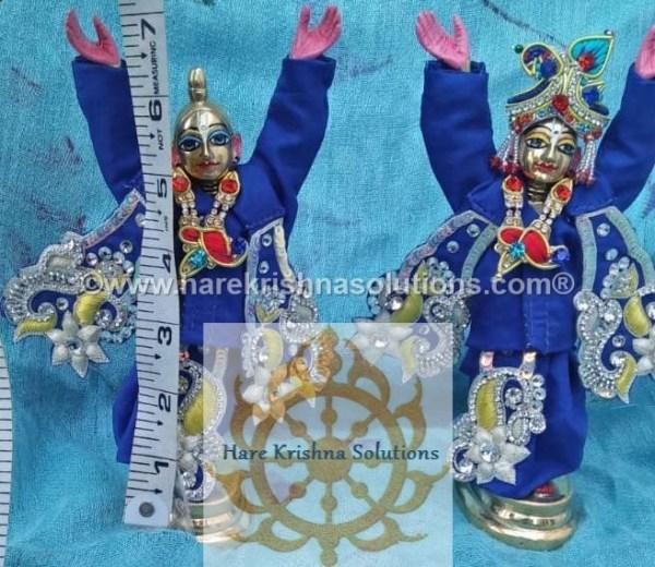 Gaura Nitai 6 inches-Blue (2)