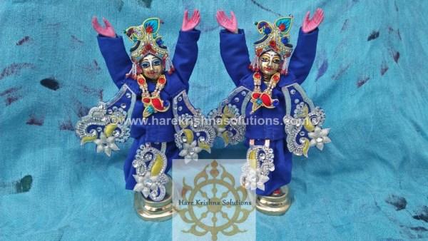 Gaura Nitai 6 inches-Blue (3)