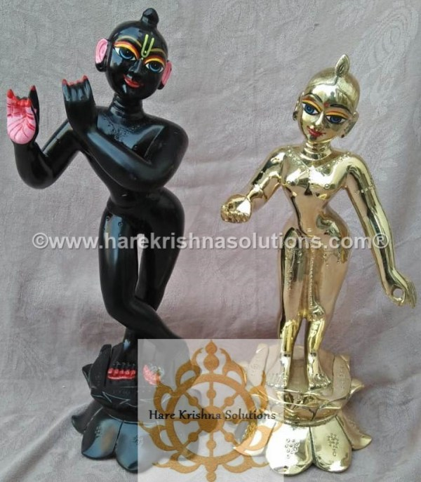 RadhaKrishna Black 12 inches (6)