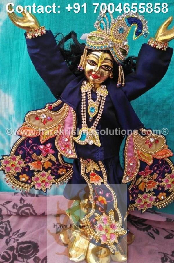 Gaura Nitai 12 inches Blue Dress (11)