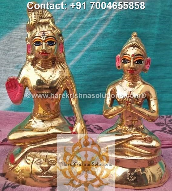 Shiva Parvati 6 inches (6)