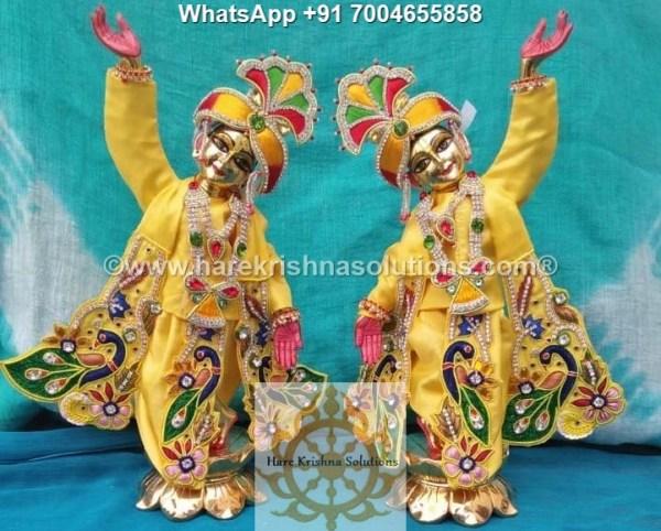 Gaura Nitai 12 inches Yellow 3
