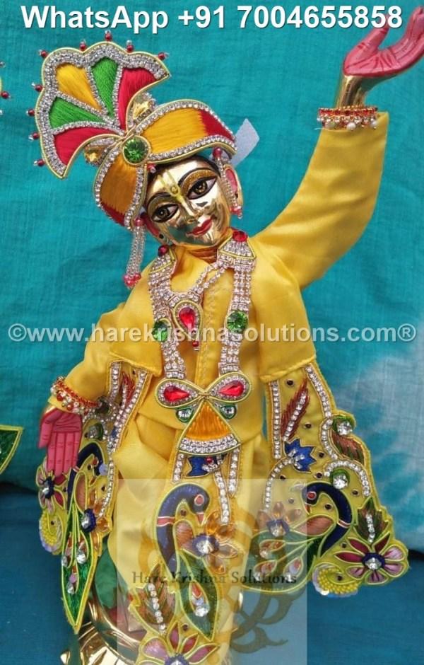 Gaura Nitai 12 inches Yellow 4