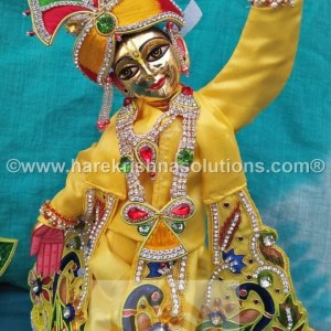 Gaura Nitai 12 inches Yellow 4