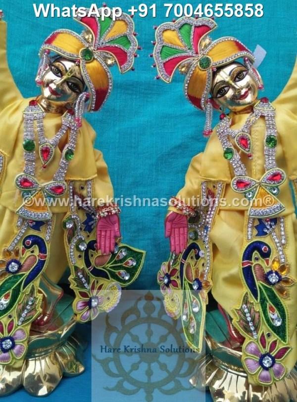 Gaura Nitai 12 inches Yellow 7