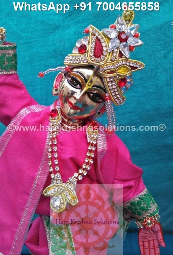 Gaura Nitai 12 inches Pink 2