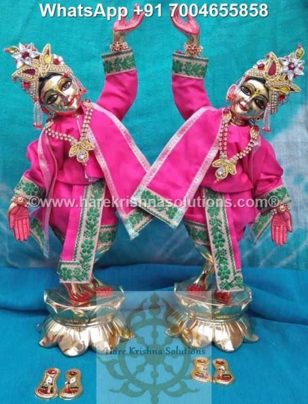 Gaura Nitai 12 inches Pink 5