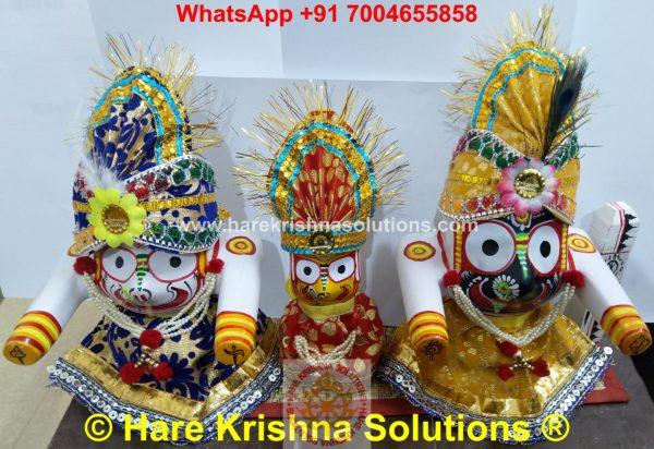 Jagannath Regular 6 inches with Accessories (10)