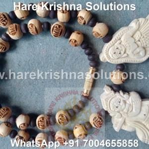 Radhe Tulasi Kanthi Mala Radha krishna Pendant