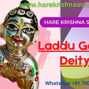 Laddu Gopal 6 inches Designer Youtube Thubnail 2