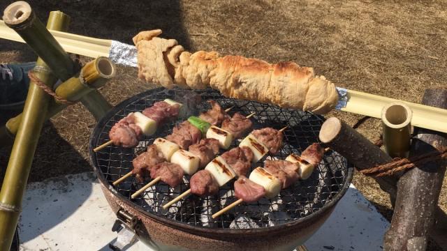竹パンバーベキューで子どもと作ったパンレシピ
