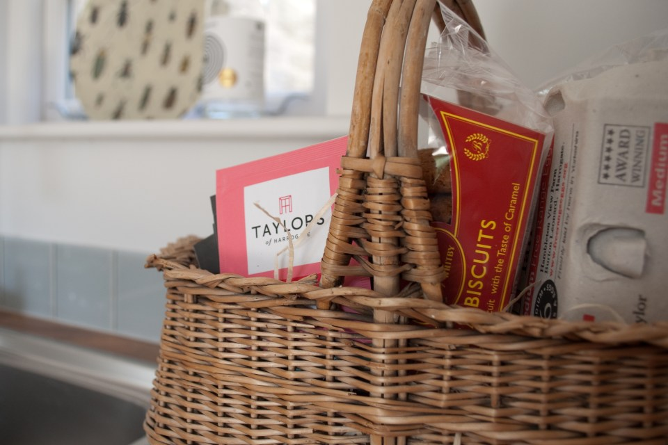 Welcome Pack at Harewood Cottages