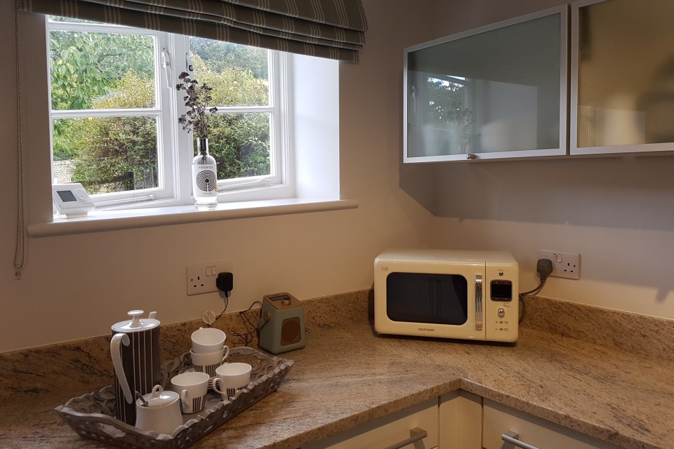 Kitchen at Apple Tree Cottage