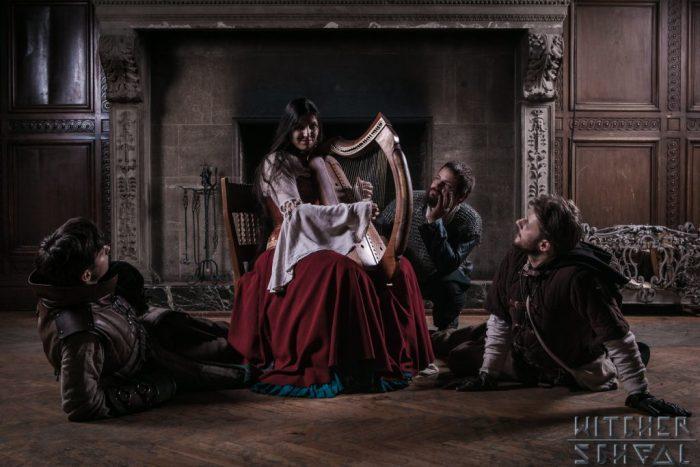 Witcher School larp fot. Kamil Nowakowski