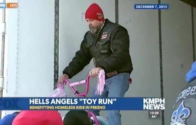 Hells Angels Buy Every Bike at Local Wal-Mart