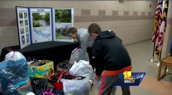 Bel Air Terps Youth Football Team Are Helping An Edgewood Family