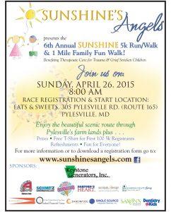 Sunshine's Angels Annual 5K Race & 1 Mile Walk