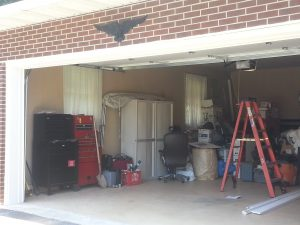 """The """"after"""" shot shows how  Sappari Solutions and BumbleJunk helped transform a messy garage into a more organized space in the 2014 contest."""