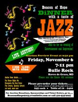 """Public Invited to Enjoy Live Jazz Music at Fourth Annual """"Beacon of Hope"""" Gala"""