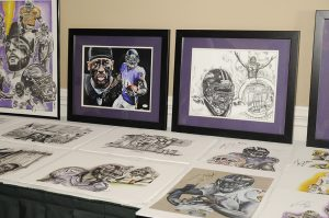 Limited edition artwork by local artist Shawn Forton will be available during the silent auction at the Harford Family House Birds' Ball Gala on August 29.