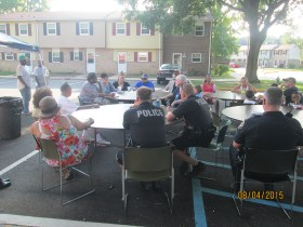 """Havre de Grace Housing Authority Participates in """"National Night Out"""""""
