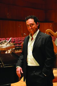 National recording artist Elio Scaccio is one of the featured entertainers at the 2015 Dancing for the Arts performances.