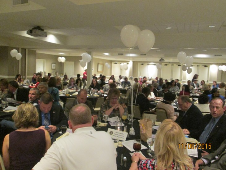 Many local officials, as well as other members of the community, generously supported the work of the Havre de Grace Housing Authority at the organization's November 6 Beacon of Hope fundraiser.