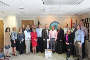 """Harford County Executive Glassman Invites County Employees to Join """"No Shave November"""" Donation Drive for Veterans and Homeless"""